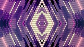 Nuevo movimiento del universal del día de fiesta de la calidad del color del diamante del pixel del bloque de la animación diagon libre illustration
