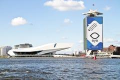 Nuevo museo de la película en Países Bajos de Amsterdam Foto de archivo libre de regalías