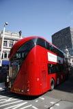 Nuevo omnibus para Londres Foto de archivo libre de regalías