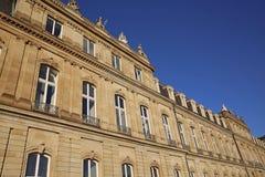 Nuevo palacio Foto de archivo libre de regalías
