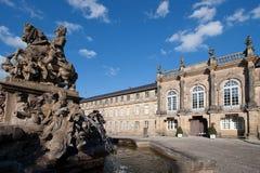 Nuevo palacio Bayreuth Fotos de archivo libres de regalías