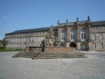 Nuevo palacio Bayreuth Foto de archivo