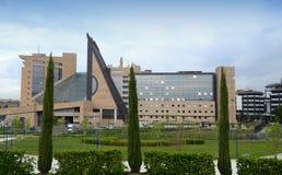 Nuevo palacio de la justicia - Florencia Fotos de archivo libres de regalías