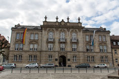 Nuevo palacio en Bayreuth, Alemania, 2015 Foto de archivo