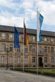 Nuevo palacio en Bayreuth, Alemania, 2015 Imágenes de archivo libres de regalías