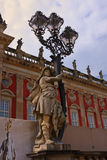 Nuevo palacio en la parte occidental del parque de Sanssouci Imagen de archivo libre de regalías