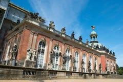 Nuevo palacio - parte de la universidad del campus de Potsdam fotos de archivo libres de regalías