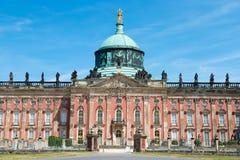 Nuevo palacio - parte de la universidad del campus de Potsdam foto de archivo