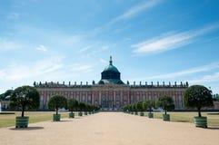 Nuevo palacio - parte de la universidad del campus de Potsdam fotografía de archivo