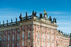 Nuevo palacio - parte de la universidad del campus de Potsdam imagen de archivo