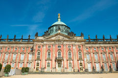 Nuevo palacio - parte de la universidad del campus de Potsdam imagen de archivo libre de regalías