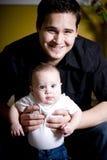 Nuevo papá Foto de archivo