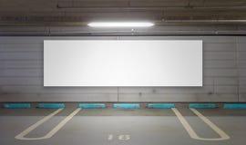Nuevo parking foto de archivo libre de regalías