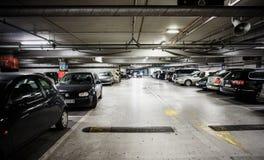 Nuevo parking Imágenes de archivo libres de regalías