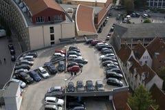 Nuevo parking Fotografía de archivo