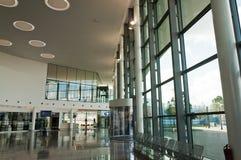 Nuevo pasillo terminal Imagen de archivo libre de regalías