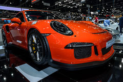 Nuevo PORSCHE 911 GT3 RS Fotos de archivo libres de regalías