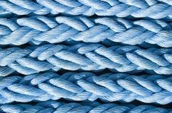 Nuevo primer azul de las cuerdas Imágenes de archivo libres de regalías