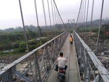 Nuevo puente Fotografía de archivo