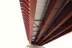 Nuevo puente anguloso Imágenes de archivo libres de regalías