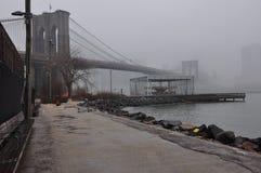 Nuevo puente de Jork Brooklyn foto de archivo libre de regalías