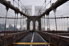 Nuevo puente de Jork Brooklyn fotos de archivo libres de regalías