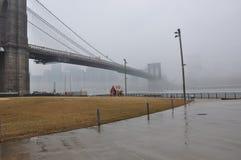 Nuevo puente de Jork Brooklyn foto de archivo