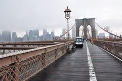 Nuevo puente de Jork Brooklyn imagen de archivo libre de regalías