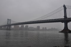 Nuevo puente de Jork Manhattan imagen de archivo