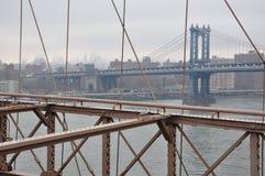 Nuevo puente de Jork Manhattan imágenes de archivo libres de regalías