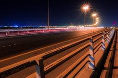 Nuevo puente de Sitra, Bahrein Imagen de archivo libre de regalías