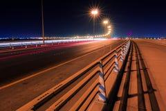 Nuevo puente de Sitra, Bahrein Imagenes de archivo