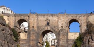 Nuevo puente en Ronda Imagen de archivo
