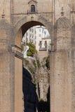 Nuevo puente en Ronda Imagenes de archivo
