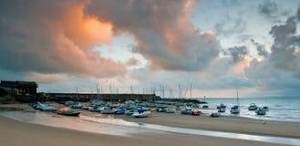 Nuevo puerto de Quay Foto de archivo
