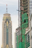 Nuevo rascacielos Fotografía de archivo libre de regalías