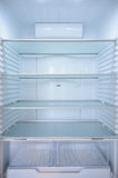 Nuevo refrigerador Imágenes de archivo libres de regalías