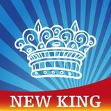 Nuevo rey Imagen de archivo