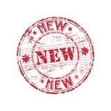 Nuevo sello de goma ilustración del vector