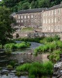 Nuevo sitio del patrimonio mundial de Lanark Foto de archivo