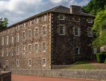 Nuevo sitio del patrimonio mundial de Lanark Imagenes de archivo