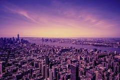 Nuevo su ciudad Imagenes de archivo
