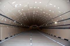 Nuevo túnel del camino Imagen de archivo libre de regalías