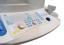 Nuevo teclado médico, cuidado médico, aislado Fotografía de archivo libre de regalías