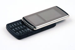 Nuevo teléfono celular del resbalador Fotos de archivo