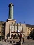 Nuevo townhall de Ostrava fotos de archivo