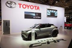 Nuevo Toyota C-HR SUV Imagen de archivo libre de regalías