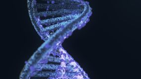 Nuevo tratamiento nuevo de la terapia génica/el corregir stock de ilustración