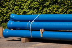 Nuevo tubo de agua Foto de archivo