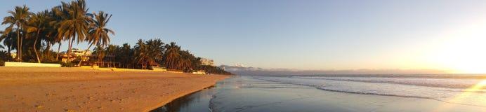 Nuevo Vallarta Beach. Beautiful Sandy beaches of Nuevo vallarta mexico Royalty Free Stock Photography